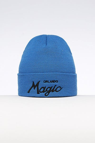 Mitchell & Ness Orlando Magic Special Script Knit Royal/Blue