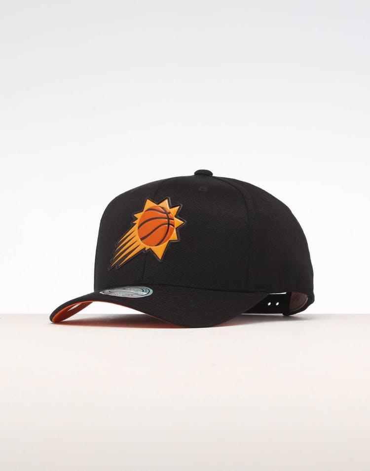 quality design c217b ef7d1 Mitchell & ness Phoenix Suns Chrome Logo Snapback Black