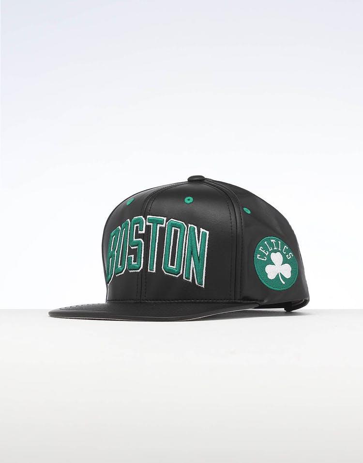 a095131f Mitchell & Ness | Boston Celtics Cap Black | Mens Headwear | On Trend –  Culture Kings