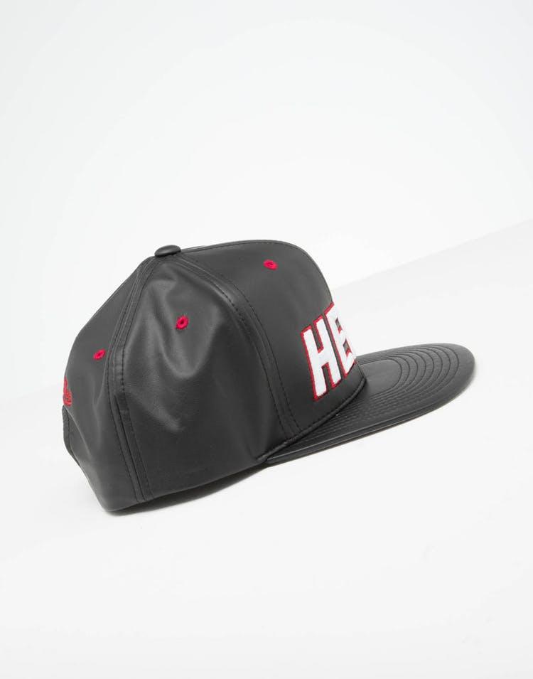 fc2ffda8b Mitchell & Ness Miami Heat Rapid Snapback Black