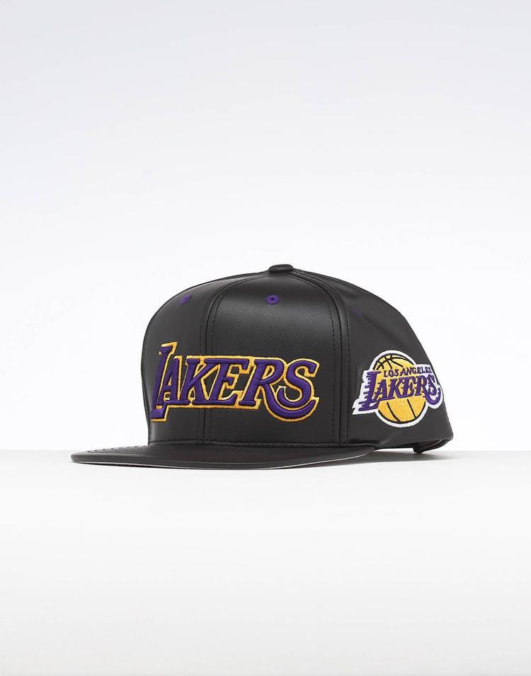 246db4d1f5dcf Mitchell   Ness Los Angeles Lakers Rapid Snapback Black – Culture Kings