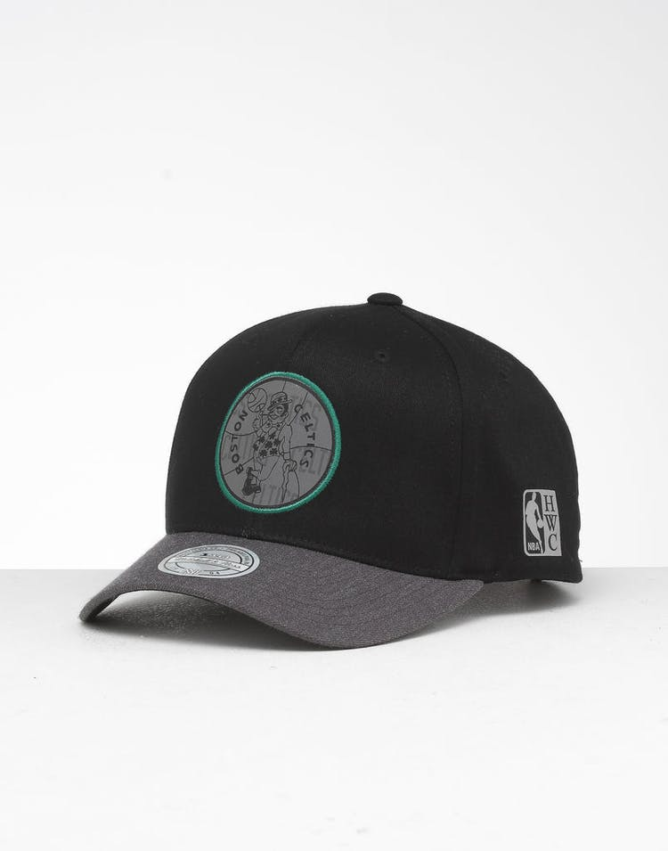 fa77989f Mitchell & Ness | Boston Celtics Reflective Duo II Snapback | Mens –  Culture Kings