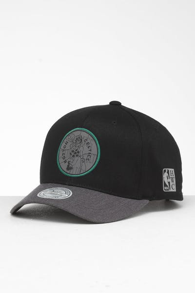 Mitchell & Ness Boston Celtics Reflective Duo II Snapback Black/Grey