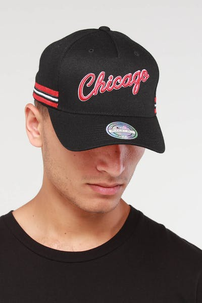 Mitchell & Ness Chicago Bulls WRDMRK 110 Snapback Black
