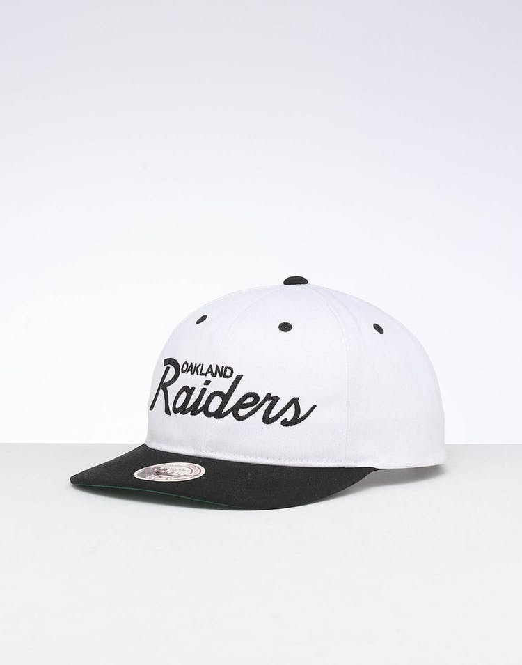 d8bbf12e451d5 Mitchell & Ness Raiders Deadstock Snapback White/Black