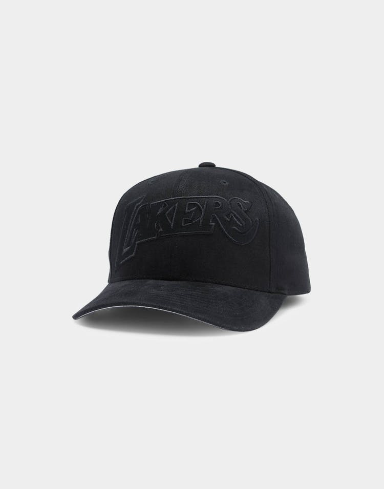 Mitchell & Ness Los Angeles Lakers Jersey Pro Crown NBA Snapback Black/Black