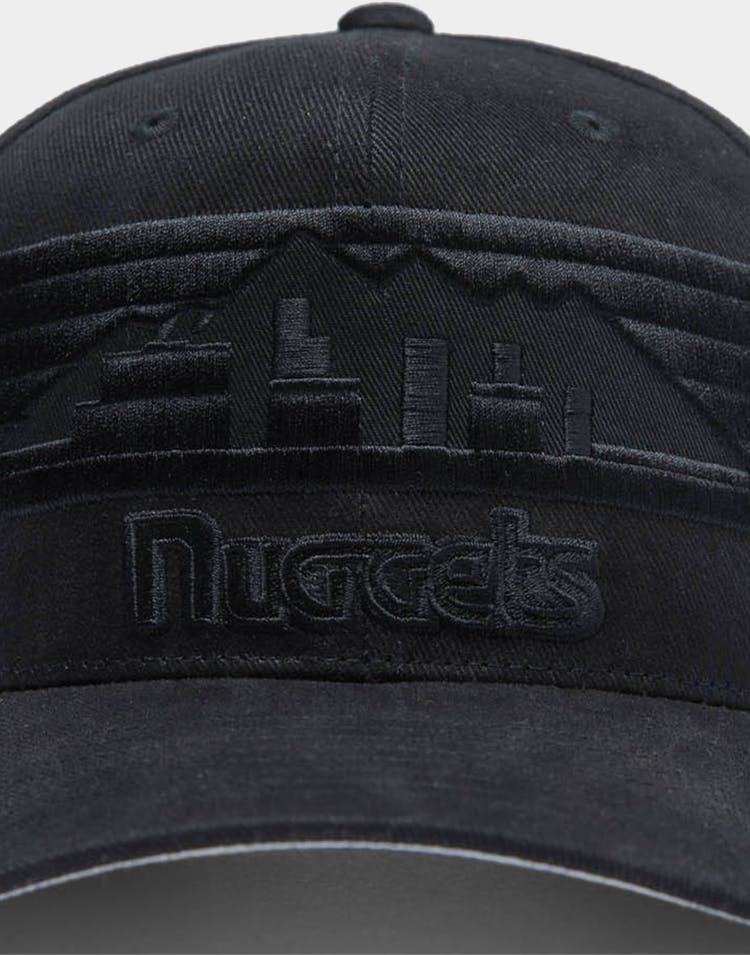 Mitchell & Ness Denver Nuggets Jersey Pro Crown NBA Snapback Black/Black