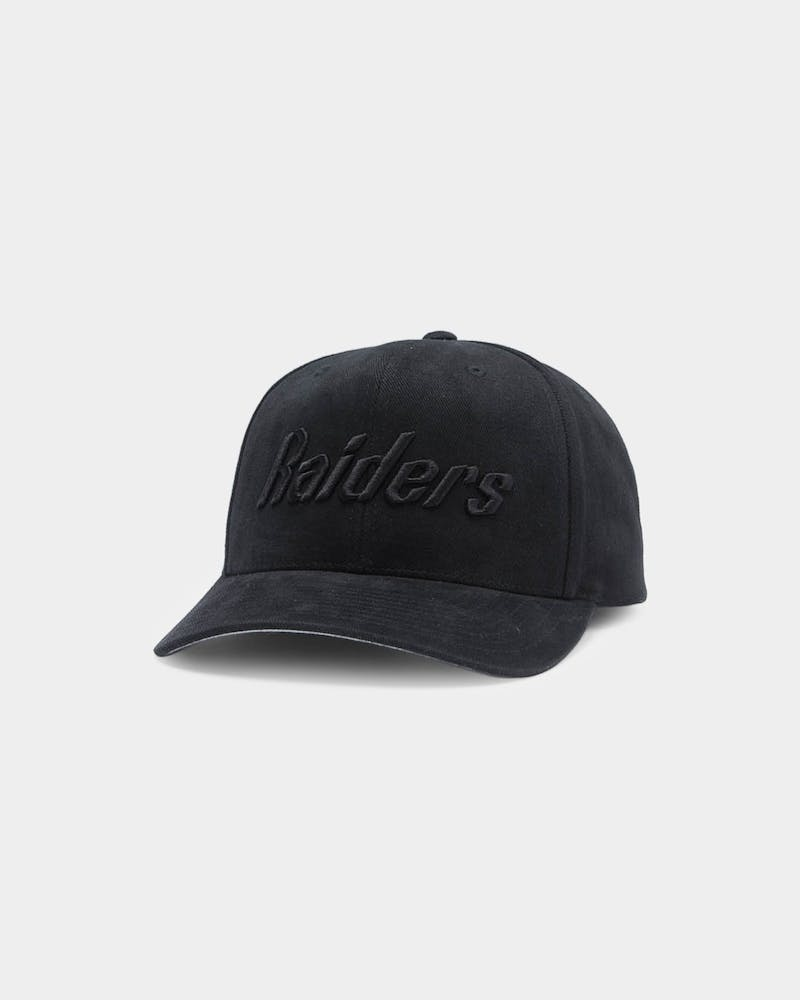 Mitchell & Ness Raiders Jersey Pro Crown NFL Snapback Black/Black