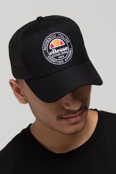 88105b08ef1 ELLESSE PONTRA TRUCKER CAP BLACK