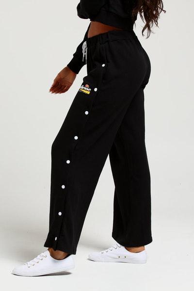 competitive price 8a516 0a5dd Ellesse Womens Obregga Popper Pant Black