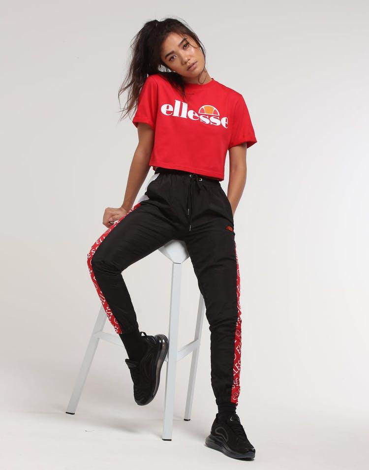 fe2e4e17 Ellesse Women's Alberta Cropped T-Shirt Red