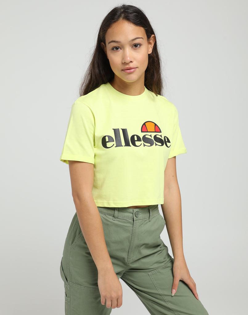 Women's Alberta Cropped Green T Ellesse Shirt 6b7IfYgyv