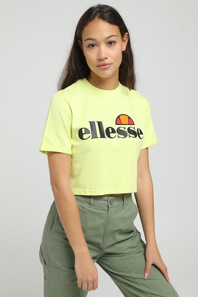 Ellesse Women's Alberta Cropped T-Shirt Green
