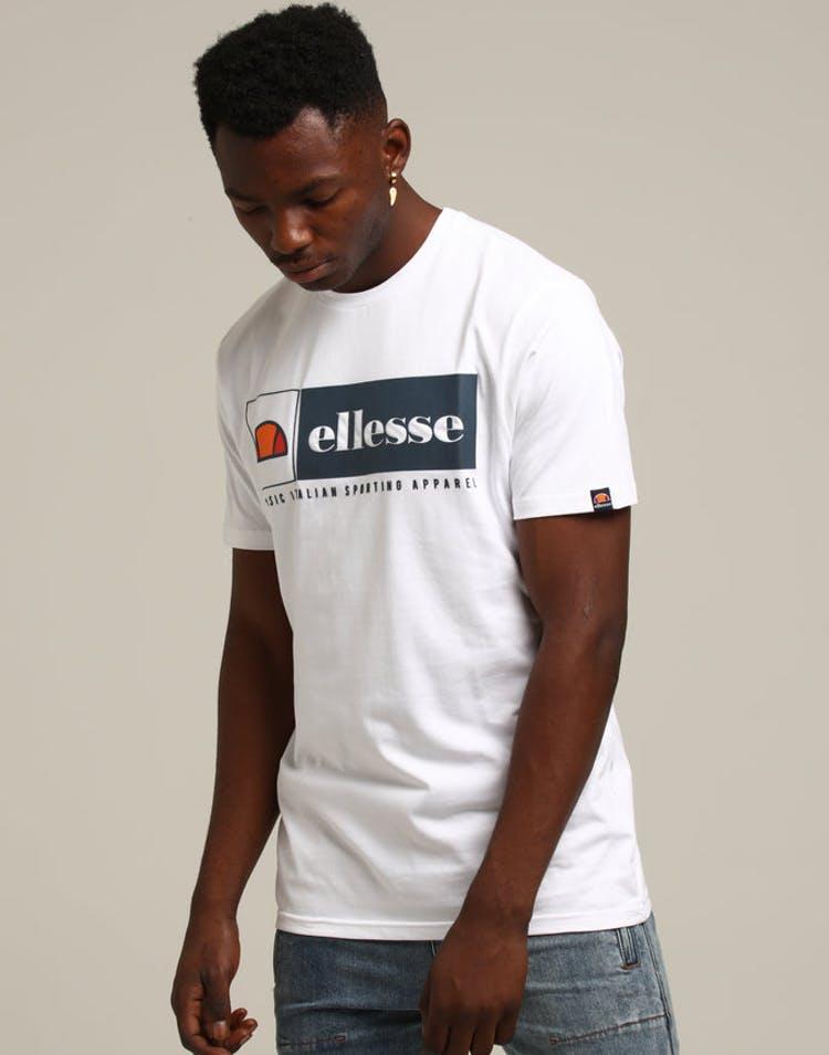 0aa1d8fca4 Ellesse Riviera T-Shirt White