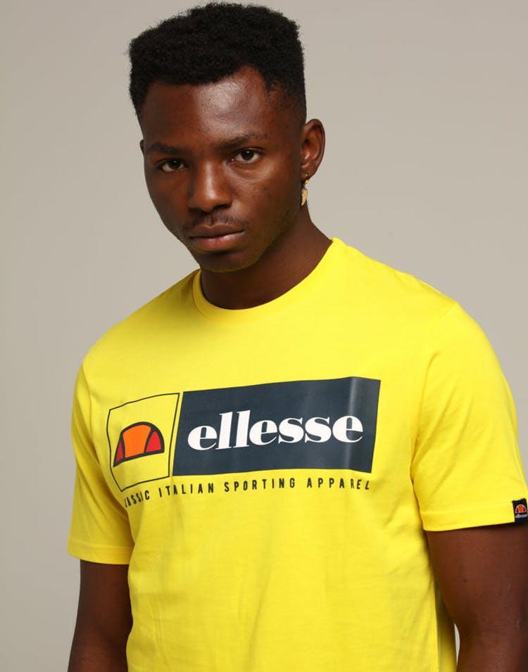 22b4e25c83 Ellesse Riviera T-Shirt Yellow