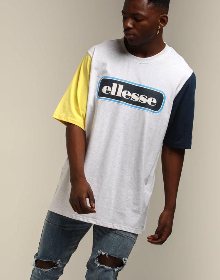 eacece090f Ellesse Mirro Oversized T-Shirt White Marle