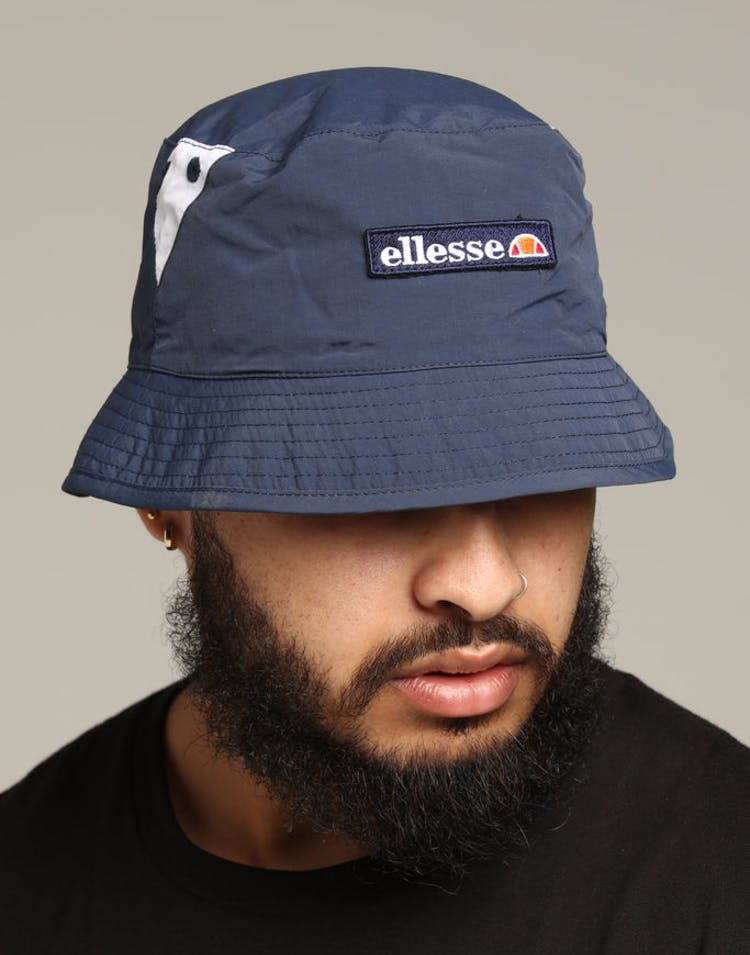615a675c Ellesse Carlo Reversible Bucket Hat Navy – Culture Kings