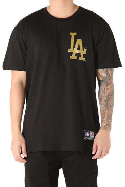 Majestic Athletic Los Angeles Dodgers Foiler Tee Black/Gold