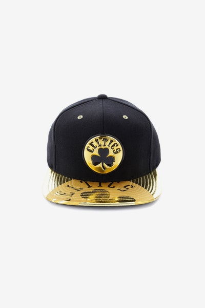 Mitchell & Ness Boston Celtics Gold Standard Snapback Black/Gold