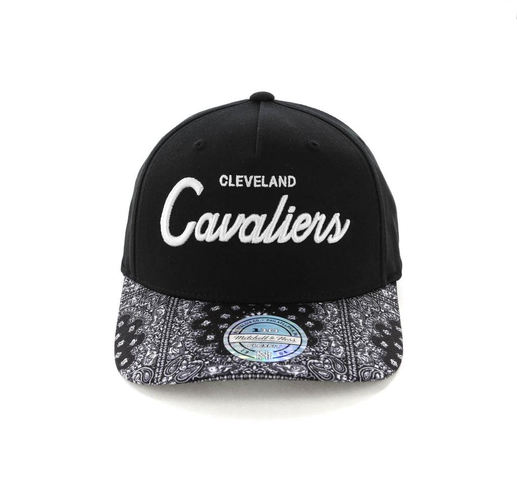 6343c5c98b795 ... discount mitchell ness cleveland cavaliers paisley 110 snapback black  665ff c815f