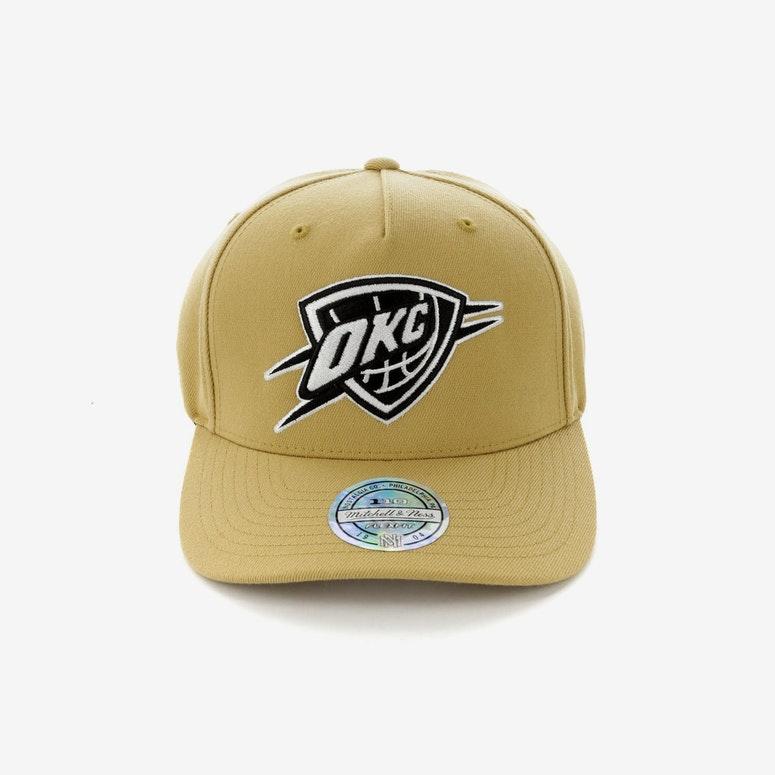 42747bb8d96ca Mitchell   Ness Oklahoma City Thunder 110 Pinch Panel Snapback Wheat –  Culture Kings