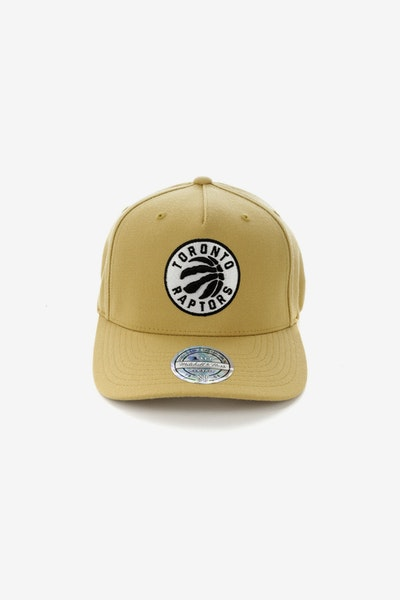 Mitchell & Ness Toronto Raptors 110 Pinch Panel Snapback Wheat