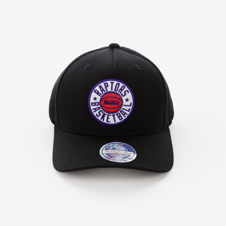 quite nice good texture autumn shoes Mitchell & Ness Toronto Raptors Full Court Logo 110 Flex Snapback ...