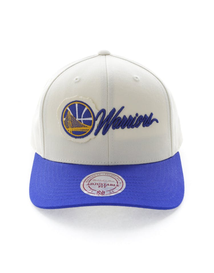 innovative design b0a5c c8b03 Mitchell   Ness Golden State Warriors Vintage 110 Snapback Vintage Off –  Culture Kings