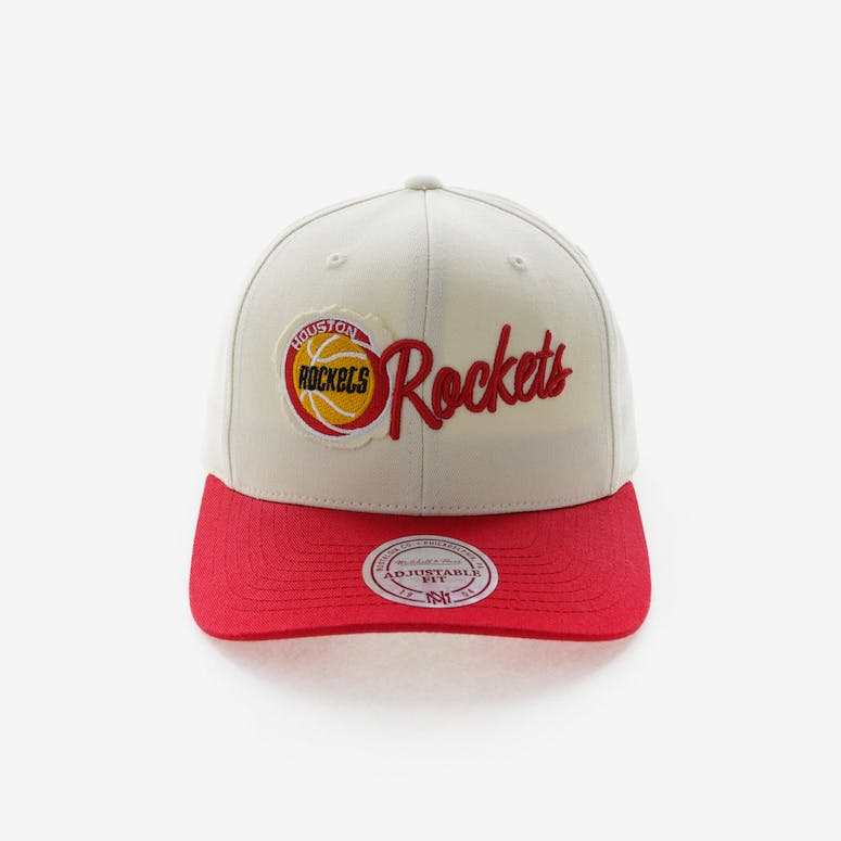 9ede2b732c8d5 Mitchell   Ness Houston Rockets HWC Vintage 110 Snapback Vintage Off W –  Culture Kings