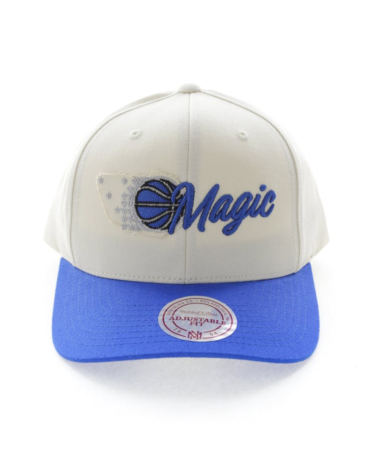 lowest price 001a9 98581 Mitchell   Ness Orlando Magic HWC Vintage 110 Snapback Vintage Off Whi –  Culture Kings