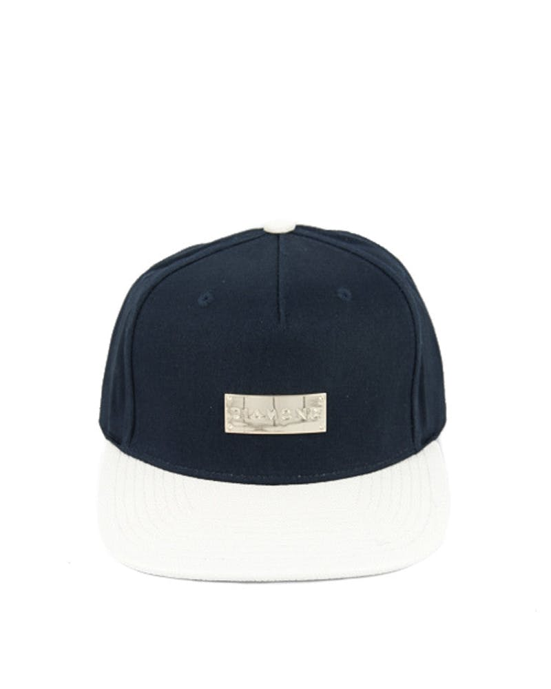 Badge Clipback Navy/white