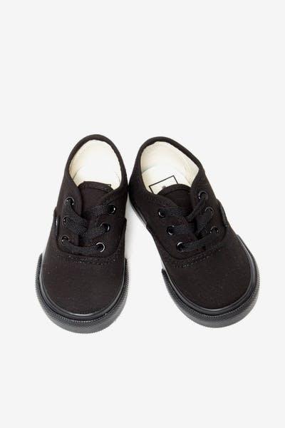 57daecf692 Vans Toddler Authentic Black Black