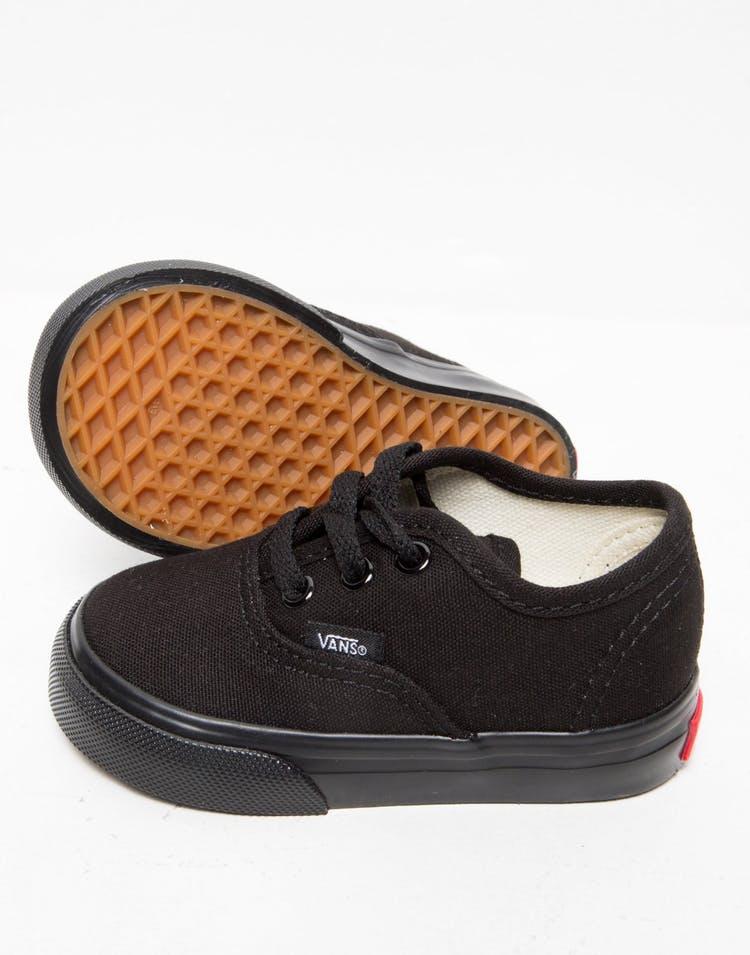 Vans Toddler Authentic Black/Black