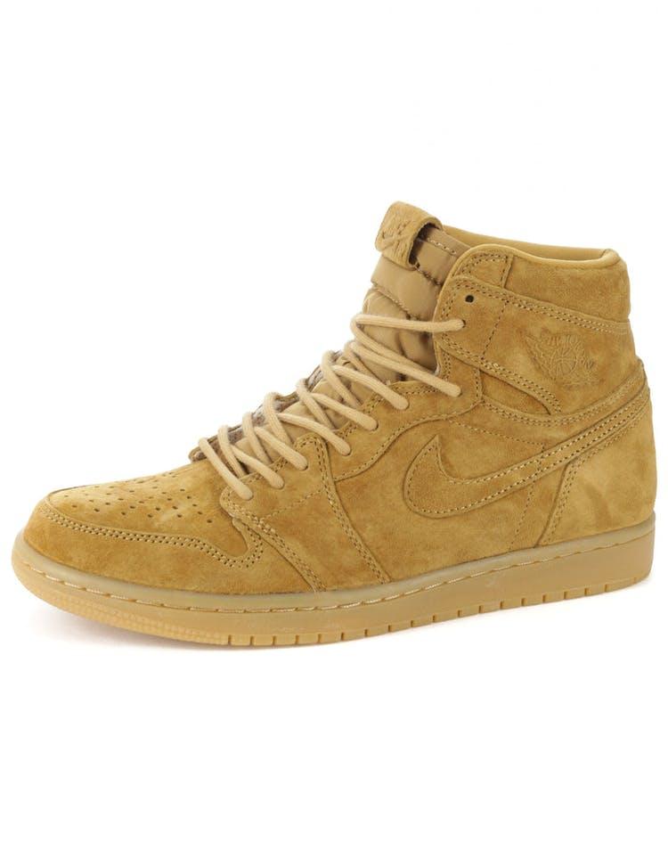 8470194219af Air Jordan 1 Retro High OG Wheat