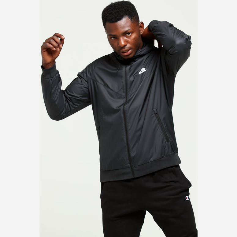 f0f94f1072b5c0 Nike Windrunner Jacket Black Black White – Culture Kings