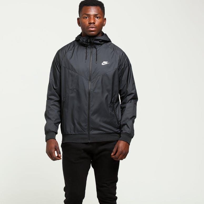 fa2566695c Nike Windrunner Jacket Black Black White – Culture Kings