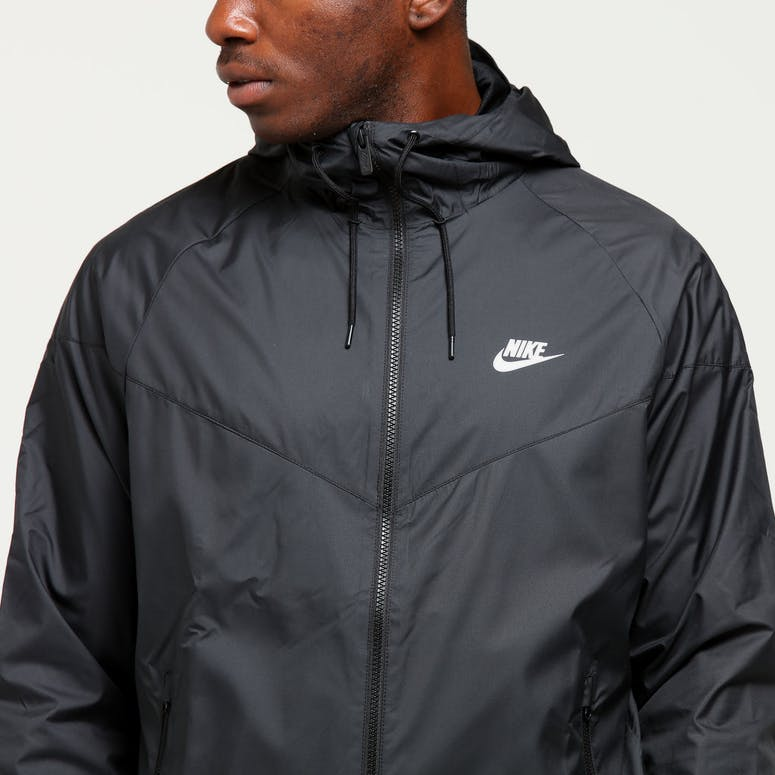 on sale 96550 70bc4 Nike Windrunner Jacket BlackBlackWhite