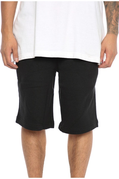 JORDAN LIFESTYLE WINGS FLEECE SHORTS Black/Black
