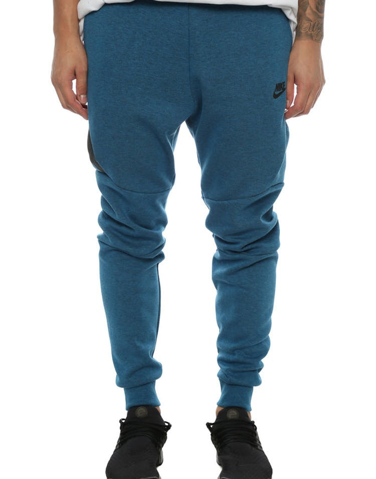 3fbf356d2825 Nike Tech Fleece Jogger Pant Blue Black – Culture Kings