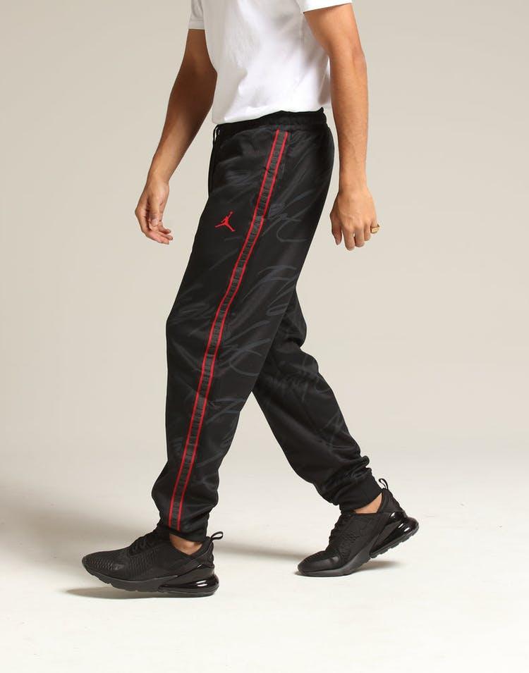 6c1973e51a6b Jordan Jumpman Tricot TrackPant Black Red – Culture Kings
