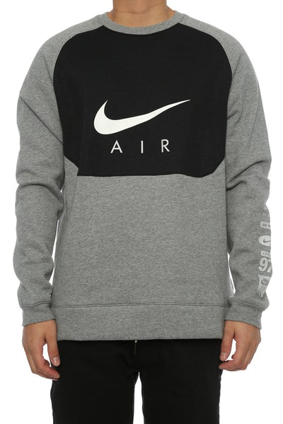 Nike Sportswear Crew Dark Grey/Black