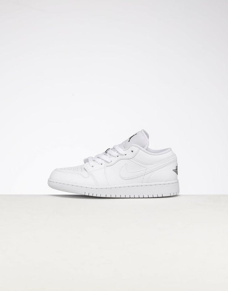 sports shoes 2a2a6 2d776 Jordan Kids Air Jordan 1 Low (GS) White/Black/White