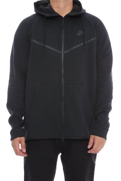 3a397354e7ec Nike Tech Fleece Windrunner Hood Black Black