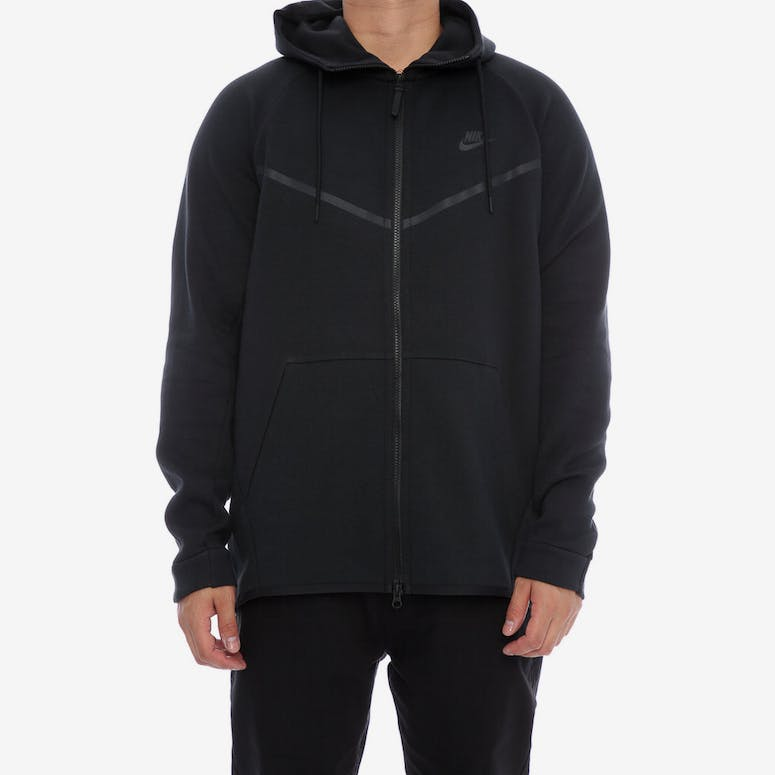 Nike Tech Fleece Windrunner Hood Black Black – Culture Kings 0f3e6ef58