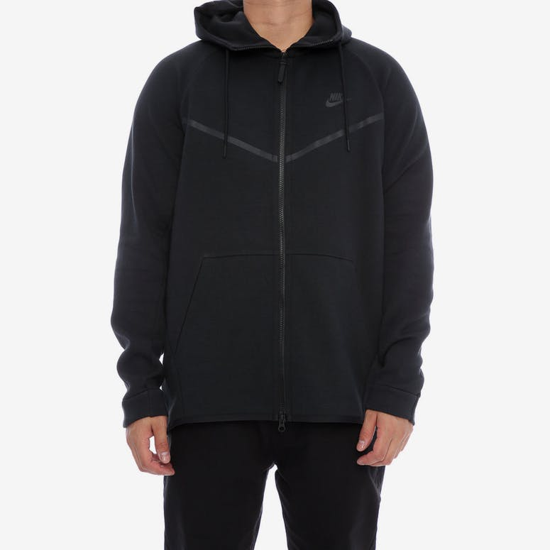 Nike Tech Fleece Windrunner Hood Black Black – Culture Kings d39fc90cb0ba