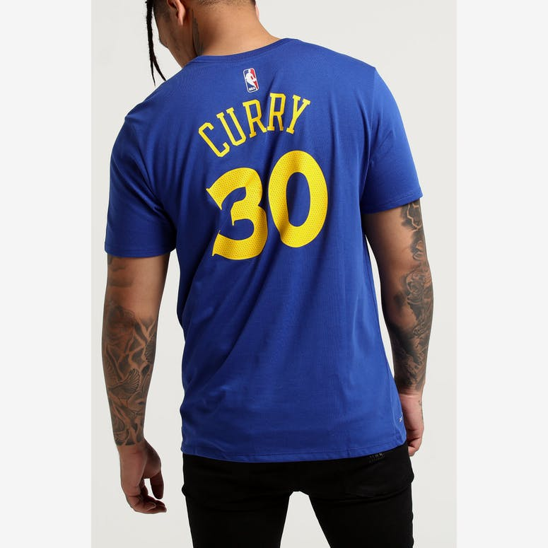 e972d3e14 Nike Golden State Warriors Stephen Curry Dri-fit Tee Blue – Culture Kings