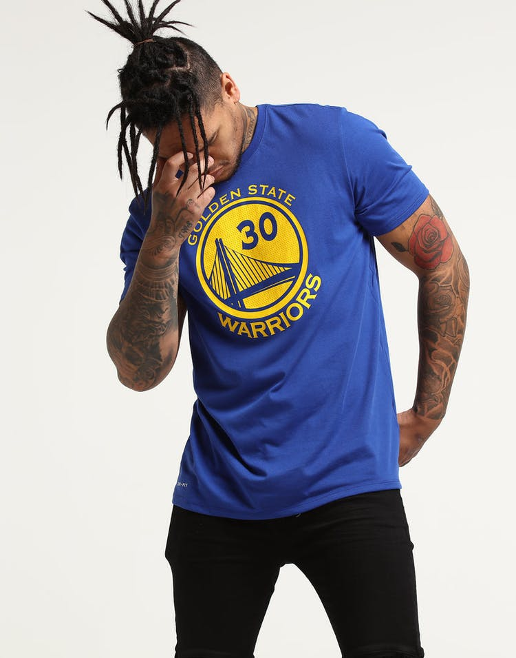 super popular 85470 ce163 Nike Golden State Warriors Stephen Curry #30 Dri-fit Tee Blue