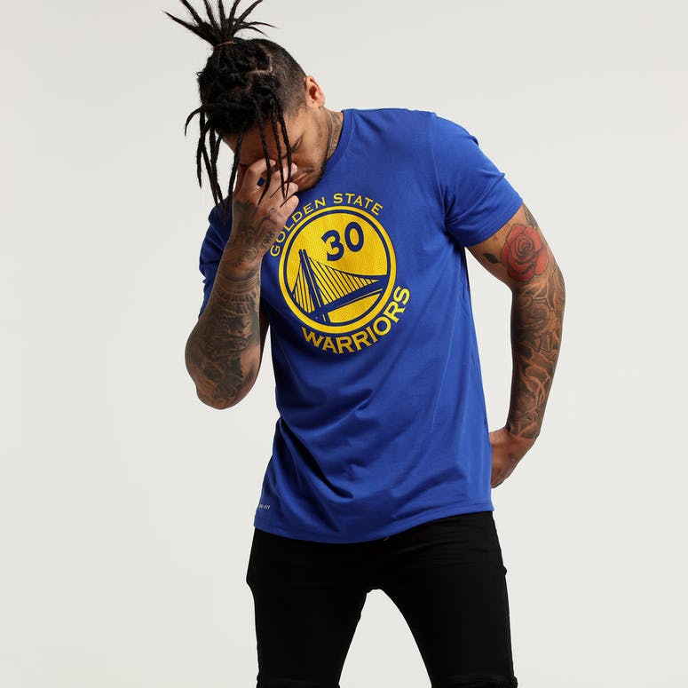 d958816243e Nike Golden State Warriors Stephen Curry  30 Dri-fit Tee Blue