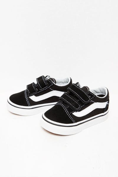 Vans Toddler Old Skool V Black/White