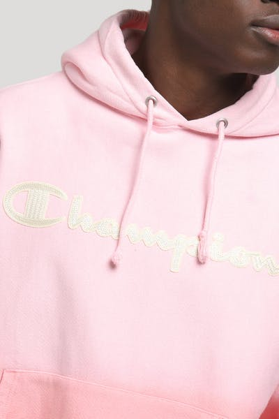 Champion OMB DY Hood Script Red